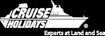 Cruise Holidays Template Logo